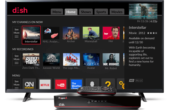 Switch to DISH and get the best value in TV - Dish